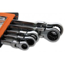 C7401 5 Piece Ratchet Spanner Set