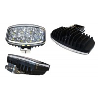 "LG808 - 9 "" LED Jumbo Driving Light with DRL"