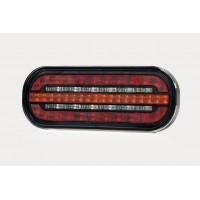 LED Global LG501 LED 5 Square Tail Light