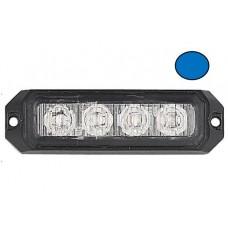 LG759 4 LED ECE R65 Grille Blue Warning Strobe