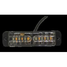 LG760 6 LED ECE R65 Grille Amber Warning Light