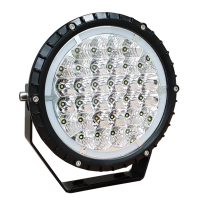 "LG807 7"" LED Driving Light with Daytime Running Light"