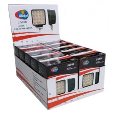 LG860 48 Watt Square LED Work Light x 10 Bundle